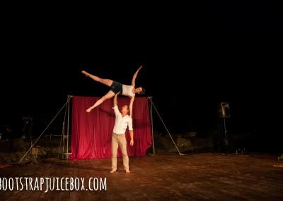 Wesley & Rhonda, Circus Campout